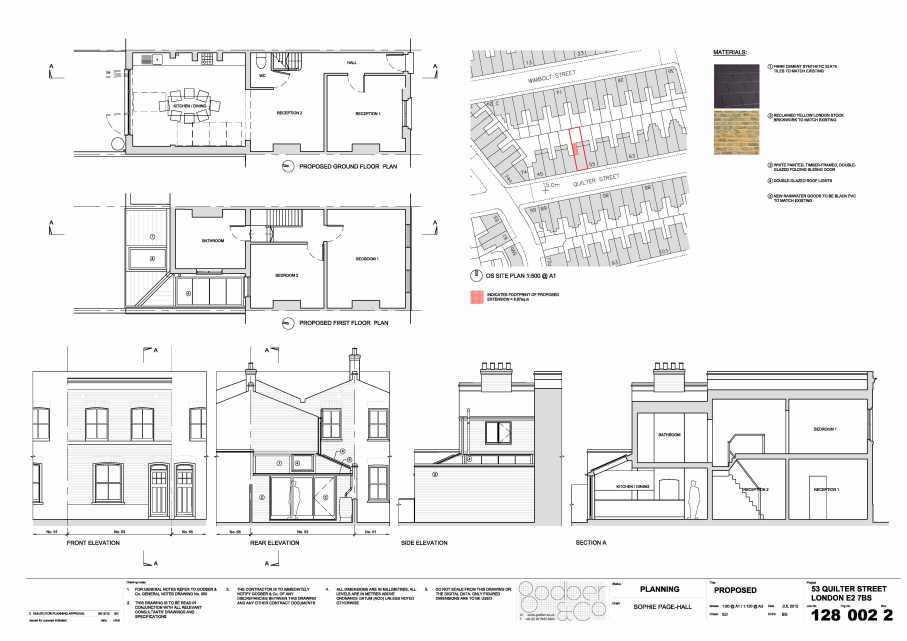 128 002 2 No. 53 Quilter Street - Proposed