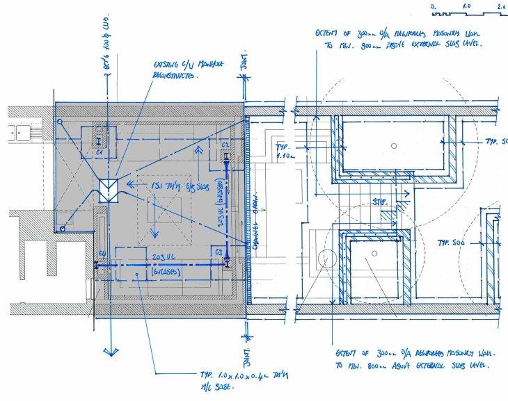 Darnley - slab and foundations