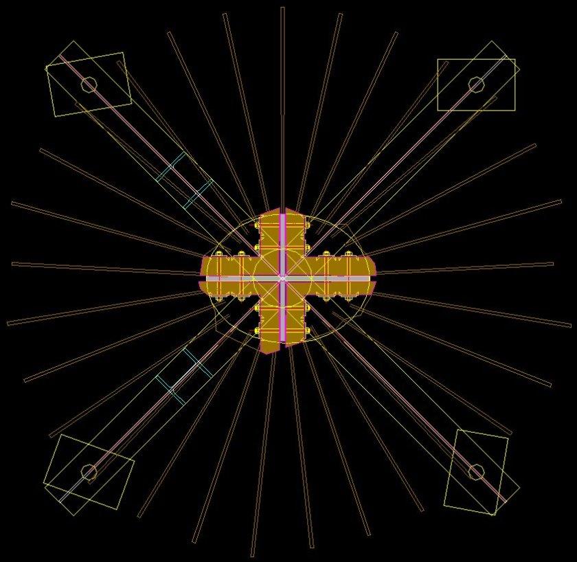 Ash Projct - Cruciform plan